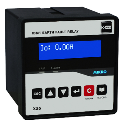 X20 Series – Earth Fault Relay